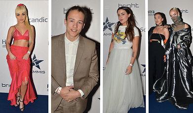 Miriam Bryant, Molly Sanden, Danny Saucedo, Amanda Winberg, Grammisgalan, Jonas Gardell, Zara Larsson
