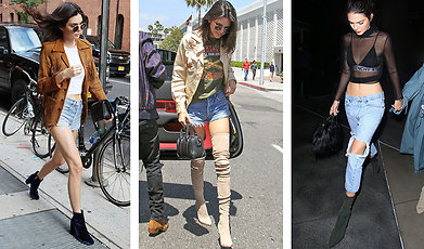 Mode, Kendall Jenner, Sno stilen