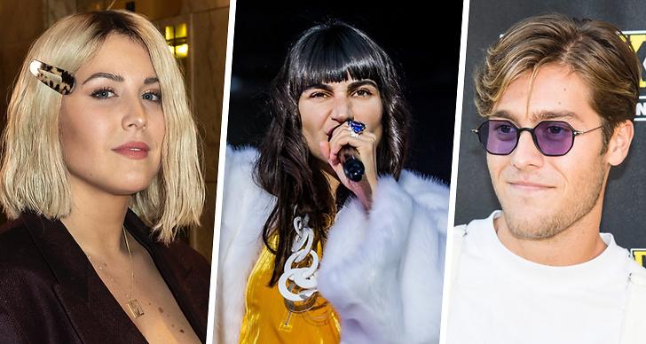 Artister som ska uppträda på allsång på skansen 2019.