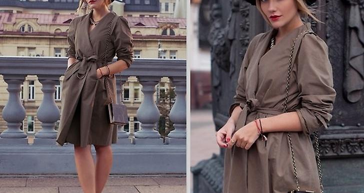 Victoria från Ryssland klär upp trenchen snyggt med hatt, pumps och clutch, http://lookbook.nu/user/1074845-Victoria-P