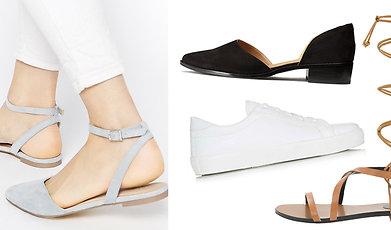 Vårens trender, skor, Boots, Sneakers