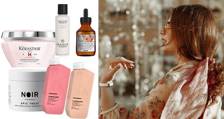 Produkter som gör att du får tjockt hår