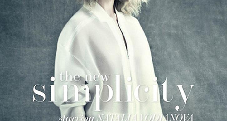 Natalia Vodianova på omslaget av nya The Edit.
