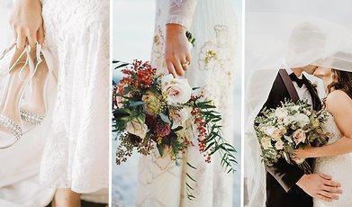 Bröllop, bröllopsklänning