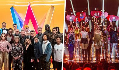 Melodifestivalen 2019, Melodifestivalen