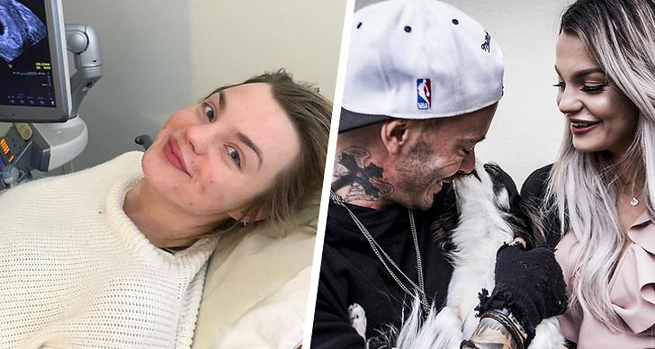 Jonna Lundell på ultraljud, Joakim och Jonna Lundell