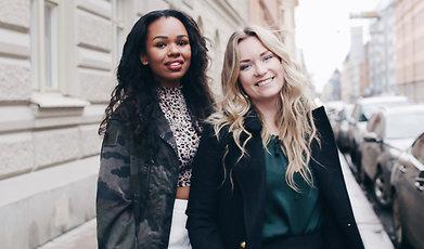 It-girls, Podcast, Sabina och Sofie