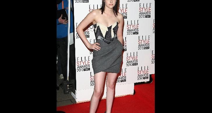 På röda mattan för Elle Style Awards 2010 där hon vann priset för årets kvinna.