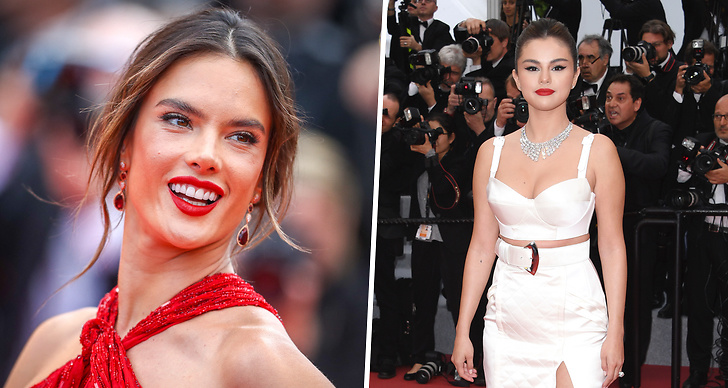 Röda mattan Cannes filmfestival, outfits, klänningar