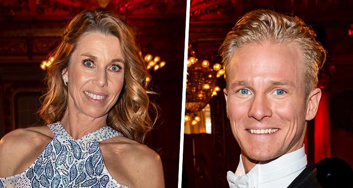Därför lämnar Magdalena Forsbergs danspartner Fredric Brunberg Let's Dance 2019.