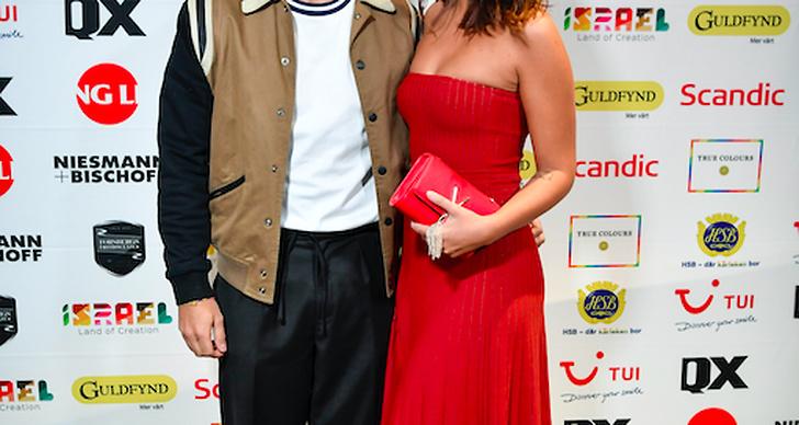 Eric Saade och Nicole Falciani