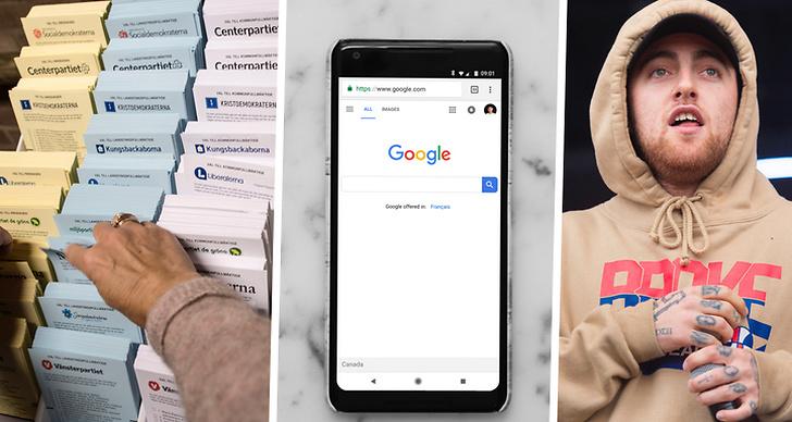 Vad svenskarna googlat på 2018.