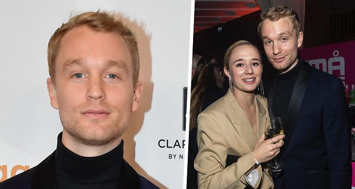Björn Gustafsson och nya flickvännen Alba August.