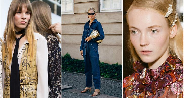 Älskar du jeans, jumpsuits och de starka färgerna från 70-talet? Då har vi kläderna du ska satsa på till hösten 2019!