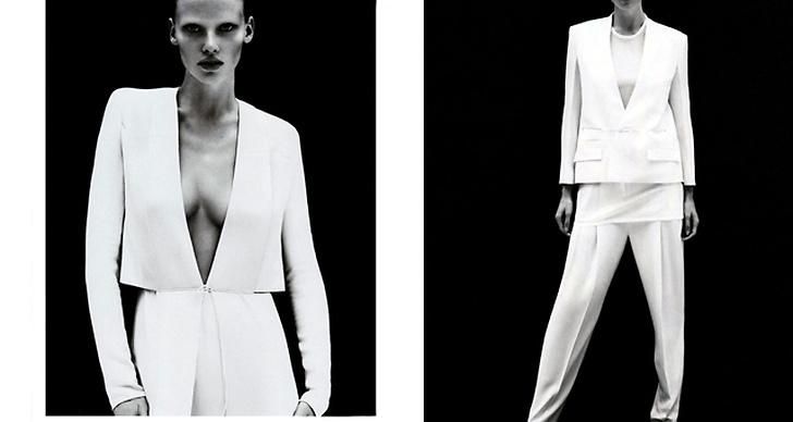Calvin Klein S/S 2011. Foto: Mert Alas & Marcus Piggot. Modell: Lara Stone.