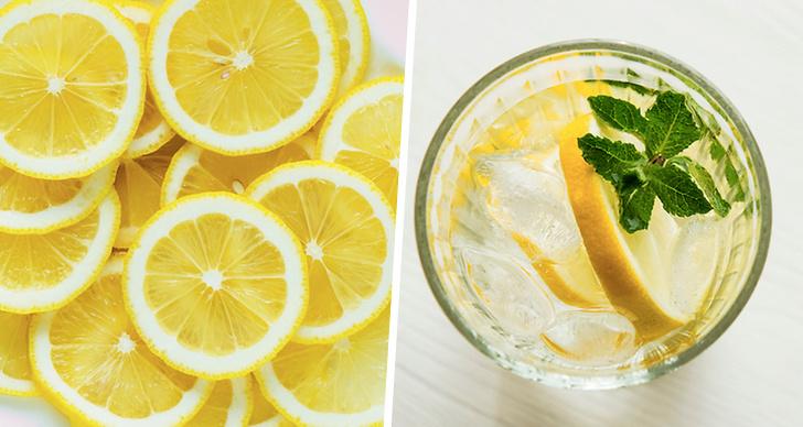 Det här händer om du dricker citronvatten