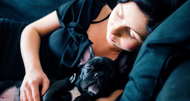 Sömnsvårigheter, svårt att sova, sjuk