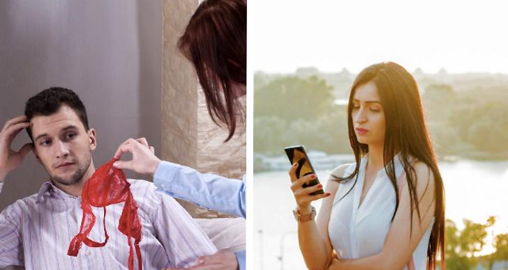 Orsaker till att ens partner är otrogen.