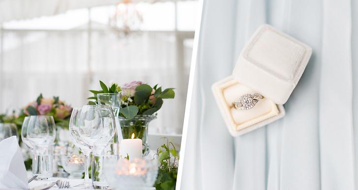 Detaljerna du inte får missa på bröllopsfesten