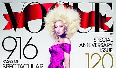 Vogue, Omslag, Lady Gaga