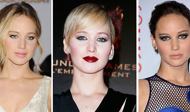 Kändis, Hollywood, Ikon, Stil, Look, Jennifer Lawrence, make over