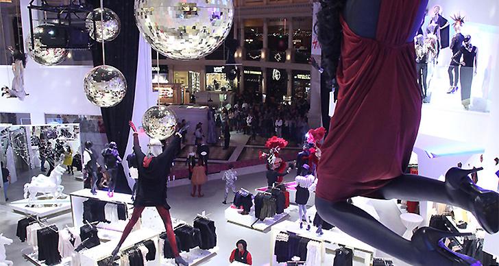 H&M i Las Vegas.