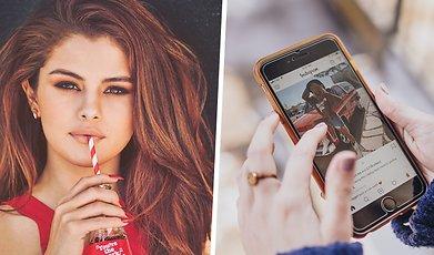 instagram, Ariana Grande, Selena Gomez