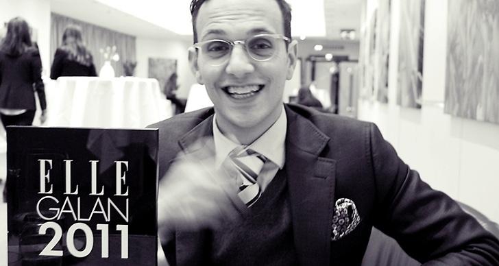 """Salem Al Fakir har kammat hem priset """"Årets bäst klädde man""""!"""