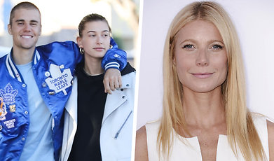 Justin Bieber, Gwyneth Paltrow, Hailey Baldwin