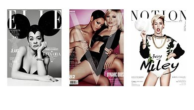 Rihanna, Elle MacPherson, Elle, Magazine, Vogue, Lena Dunham, ID, Rita Ora, Covers