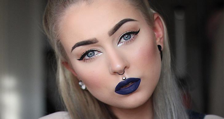 Satsa på ett blått läppstift, så coolt och snyggt! Tro det eller ej men det finns många olika blå nyanser att välja mellan i din vanliga skönhetsbutik.