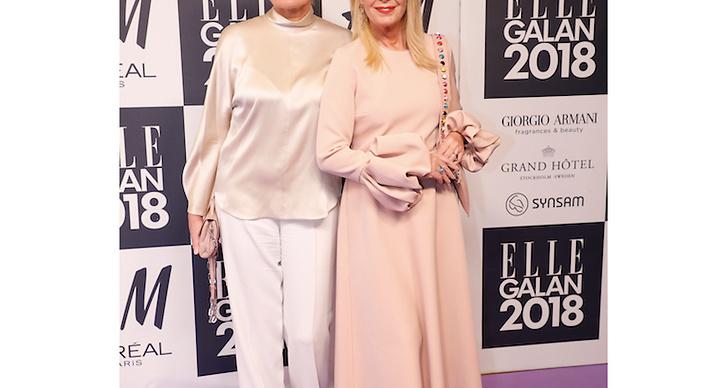 Eva Dahlgren och Efva Attling