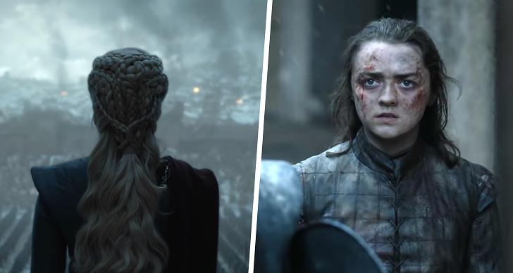 Trailer till Game of Thrones avsnitt 6 säsong 8.