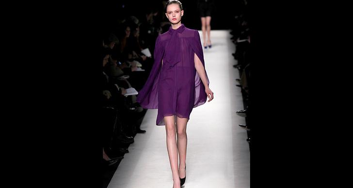 Svenska modellen Frida Gustafsson gick på samma visning…?