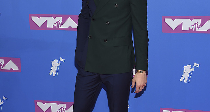 Shawn Mendez på Video Music Awards röda matta.