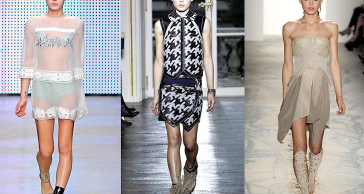 Här syns skönheten i kreationer av Giambattista Vailli, Balenciaga och Jen Kao.
