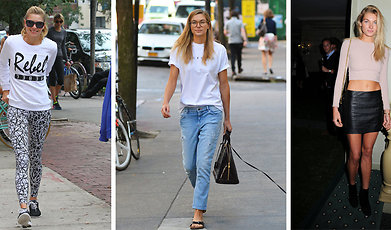 Jessica Hart, Veckans stilikon, Mode, Victorias Secret