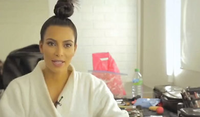 Intervju, instagram, Kim Kardashian, Familjen Kardashian