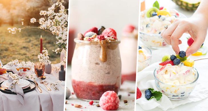 Goda och enkla efterrätter och desserter, tips, recept