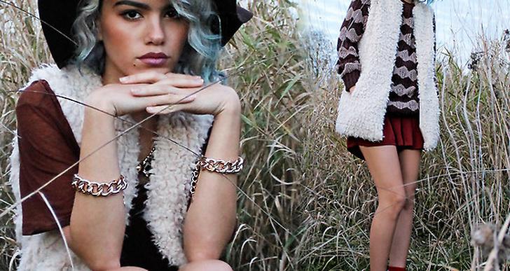 Hatt, blåa lockar, pälsväst och stickat? Inga konstigheter för Alanna från Vancouver. Du hittar mer från henne här http://lookbook.nu/xandervintage