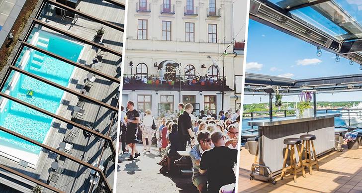 Bästa takbarer, Stockholm, The Winery Hotel, Scandic Sjöfartshotellet