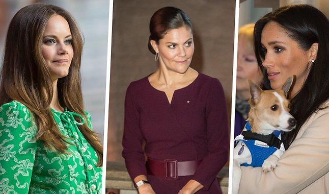 Meghan Markle, kronprinsessan Victoria, Prinsessan Sofia