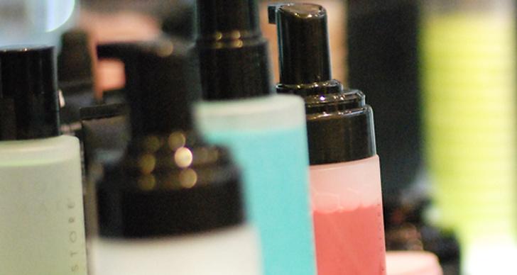 Även Make up Store har funnit sin nya plats.