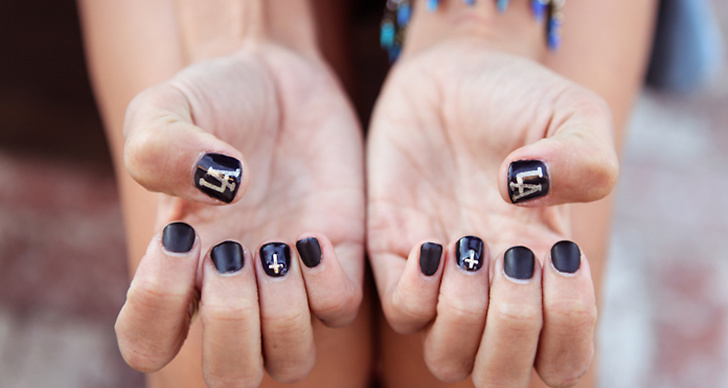 Sätt din egen prägel på naglarna med cool design.
