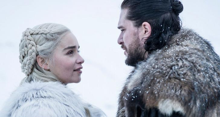 Jon Snow och Daenerys Targaryen släktband