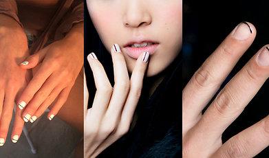 Höst, Trend, Naglar, Party, nail art, DIY