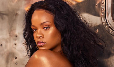 Rihanna, Smink, Highlighter