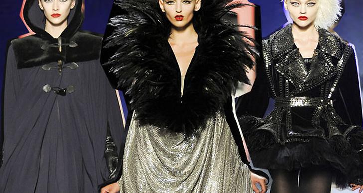 Jean Paul Gaultier levererade en couture-kollektion utöver det vanliga.