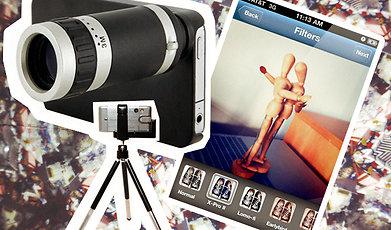 Foto, App, Iphone, Selfie