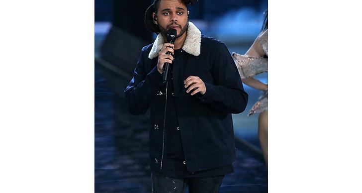 Nu: Hyllade The Weeknd bjöd på skönsång under årets visning.